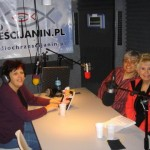 Jagoda, Host of Women's Forum Weekly Radio Talk Show, Interviewing Kitty with Gosia