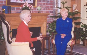 Dr. Freda Crews and Kitty Chappell